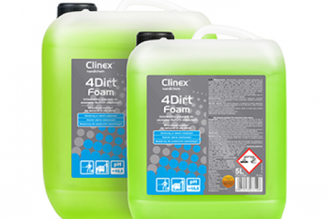 Clinex 4Dirt Foam 5l 77-646